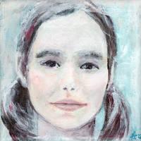 Portrait of a girl by Ansheen