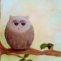 Owl by Ansheen