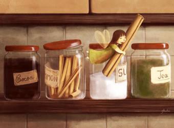 Cinnamon love by Ansheen