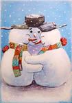Snowmencard