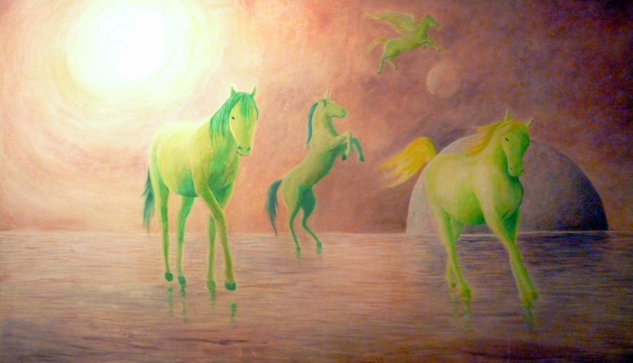Cai verzi pe pereti by ArtAnda