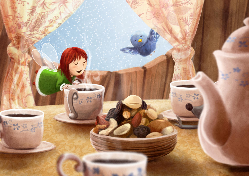 The sweet smell of breakfast by ArtAnda