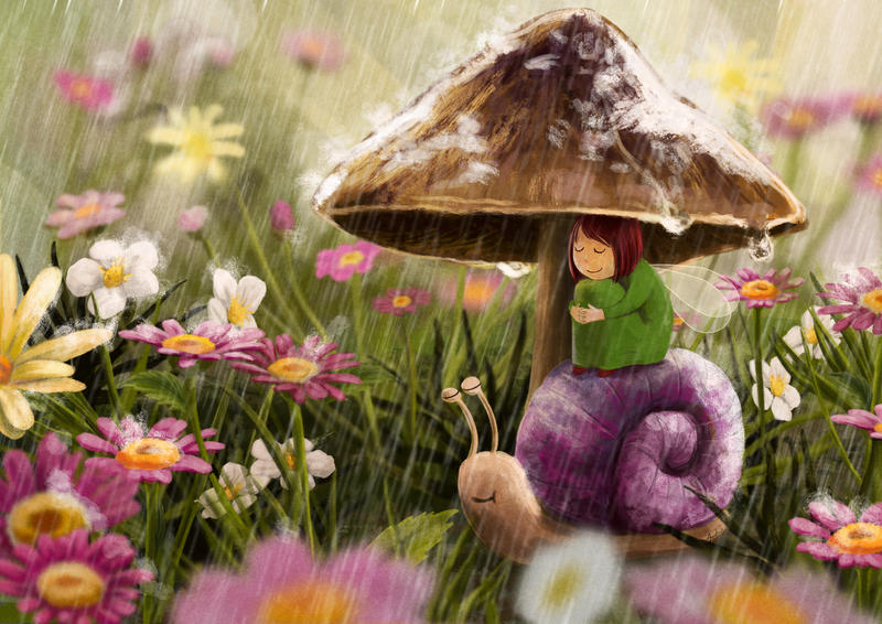 The sound of rain by ArtAnda