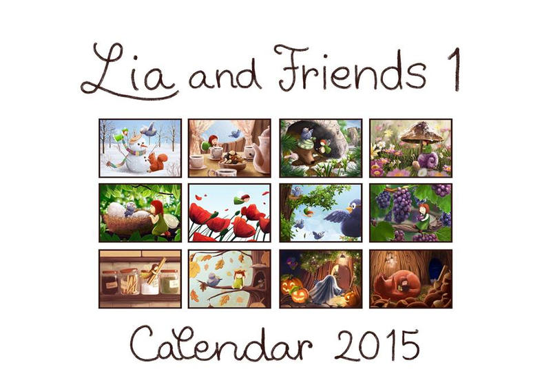 Yaaaay calendar!! by ArtAnda