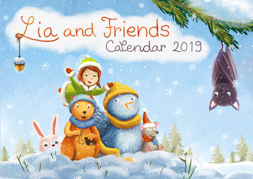 Lia and friends calendar 2019