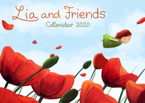 Lia and friends - 2020 calendar