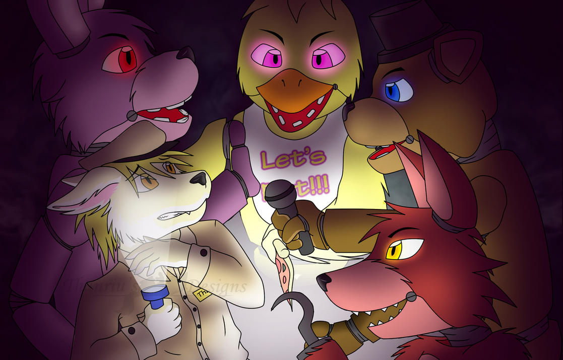 Welcome to Five Nights At Freddys -fan art- by Endriand