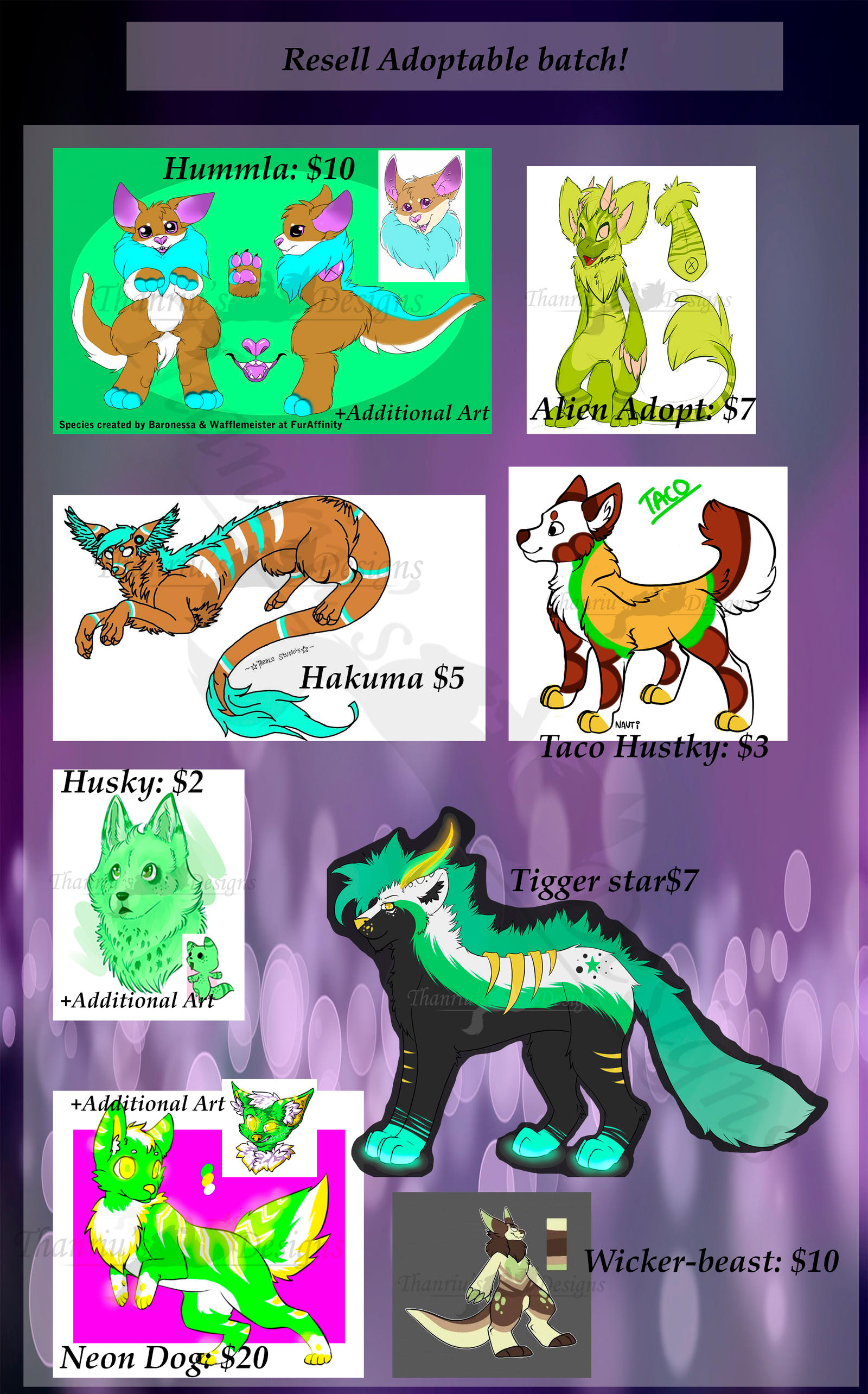 Resell Adoptable Batch! -emergency!- [Closed!]