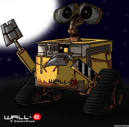 WALL-E by BluebottleFlyer