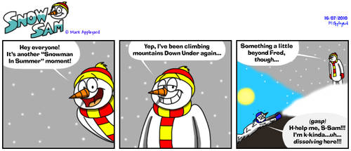 Snow Sam Comic 85