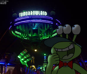 Noodles in Tomorrowland by BluebottleFlyer