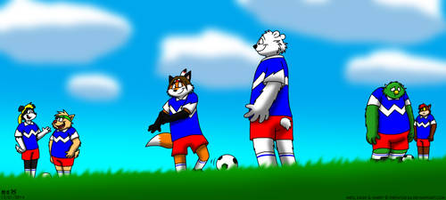 Soccer Pals VIII by BluebottleFlyer