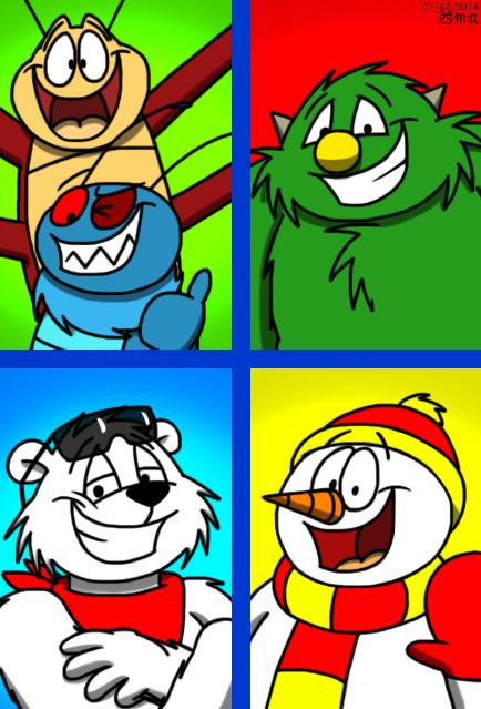 Character Squares v2 by BluebottleFlyer