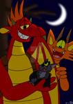 Dragons and a Bat