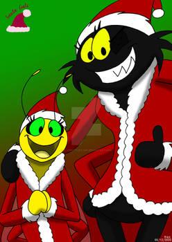 Santa Bug Girls