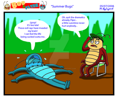 B'n'F - Summer Bugs by BluebottleFlyer
