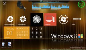 My Windows 8 Desktop