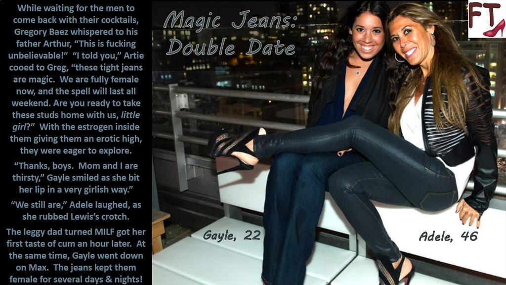 Magic Jeans - Double Dates by AnnabelleRavenFT