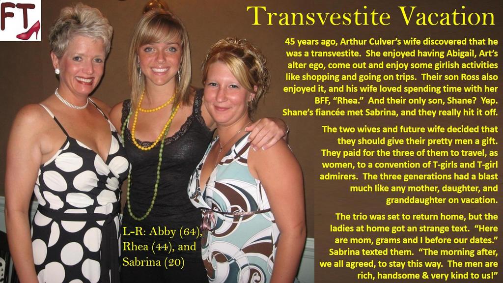 Transvestite Vacation by AnnabelleRavenFT