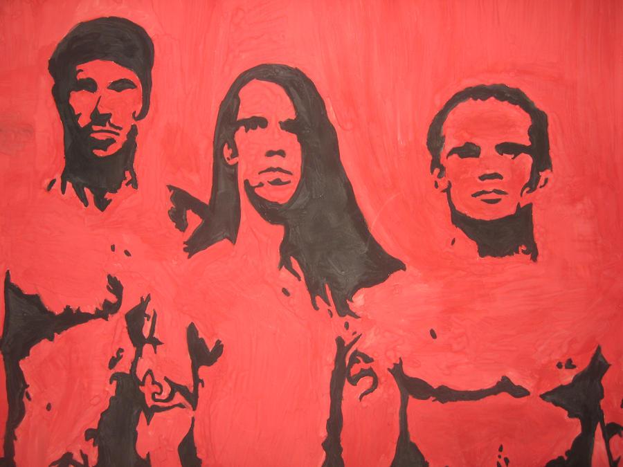 Red Hot Chili Peppers by TimurHusainov