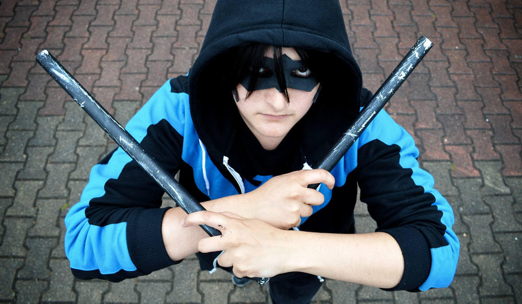 Nightwing_DC Comics by Shigure-chan