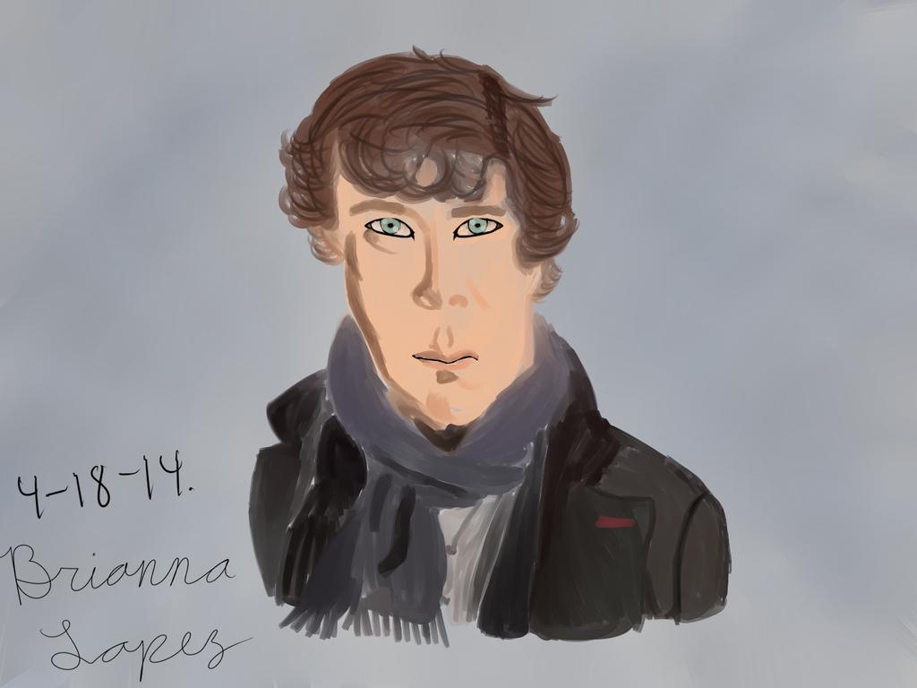 Sherlock Holmes by KaputheWolf