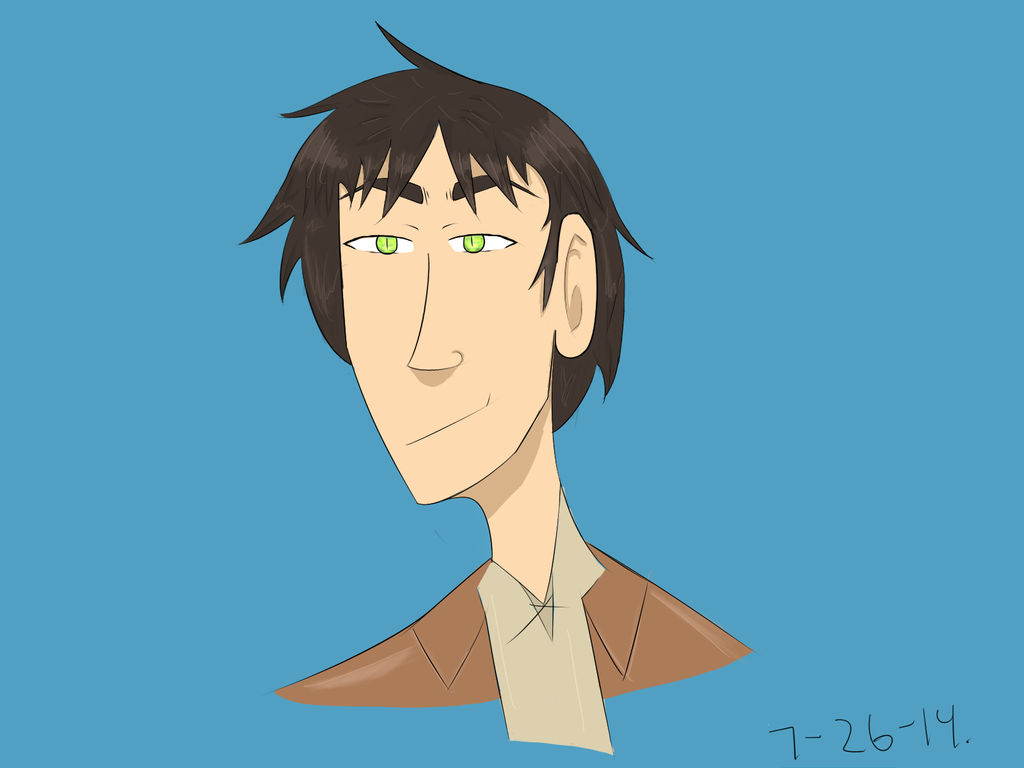 Eren Headshot by KaputheWolf