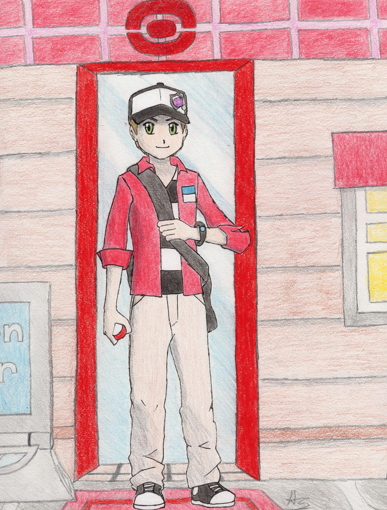 Pokemon Trainer Alex by ArekkusuSan