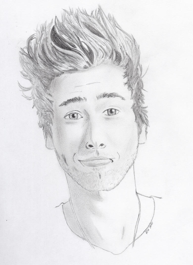 Luke Hemmings Portrait by ArekkusuSan