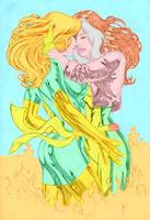 Rogue Jean Grey colored by GordonAlyx