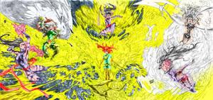 X women VS Psylock colored