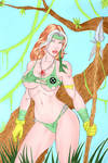 Rogue Savage Land  colored 2