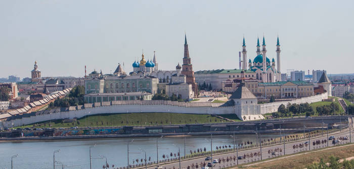 Kazan. Kazan Kremlin