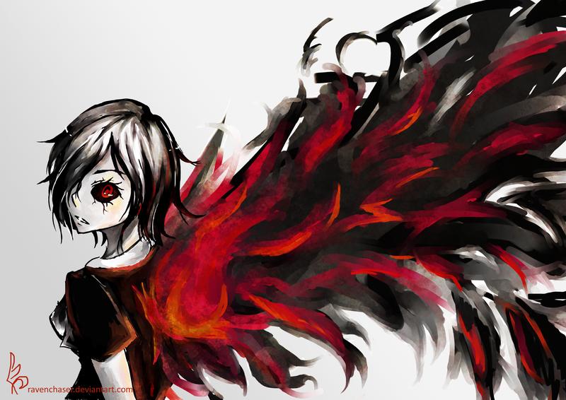 Touka by ravenchaser