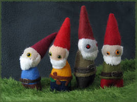 Gnome Family Portrait