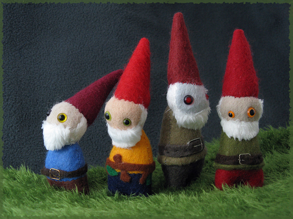 Gnome Family Portrait by Jevist