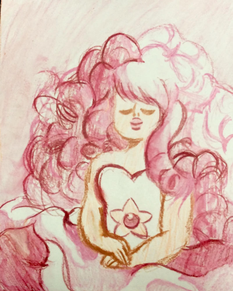 Rose quartz portrait recreation by Rosewater227