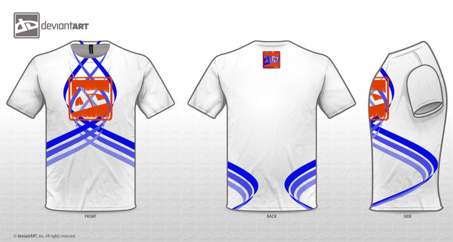 Deviant Shirt Design 2-White by GodsUnderstudy