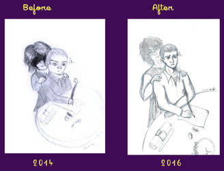 Meme Before and After by Firichuuu