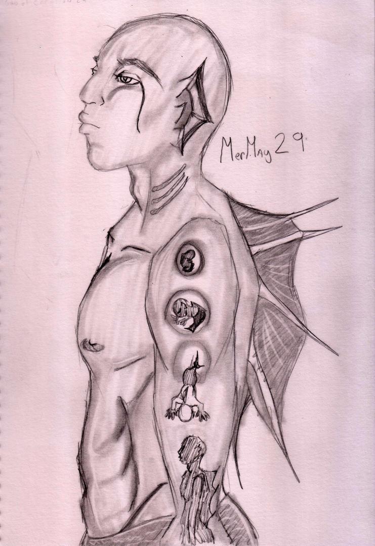 MerMay-29 by Firichuuu