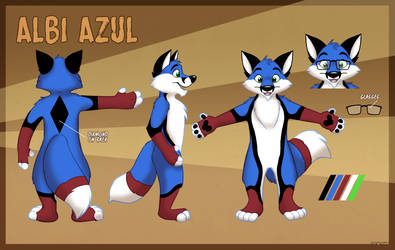 Ref sheet by Marymouse of me by foxalbiazul
