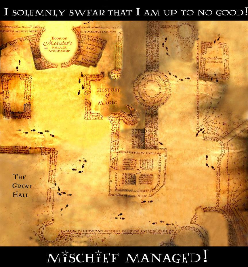 Marauders' Map by foxalbiazul