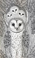 Forest Owl by fesleen