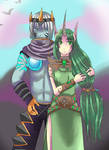 Soraka and Varus League of Legends