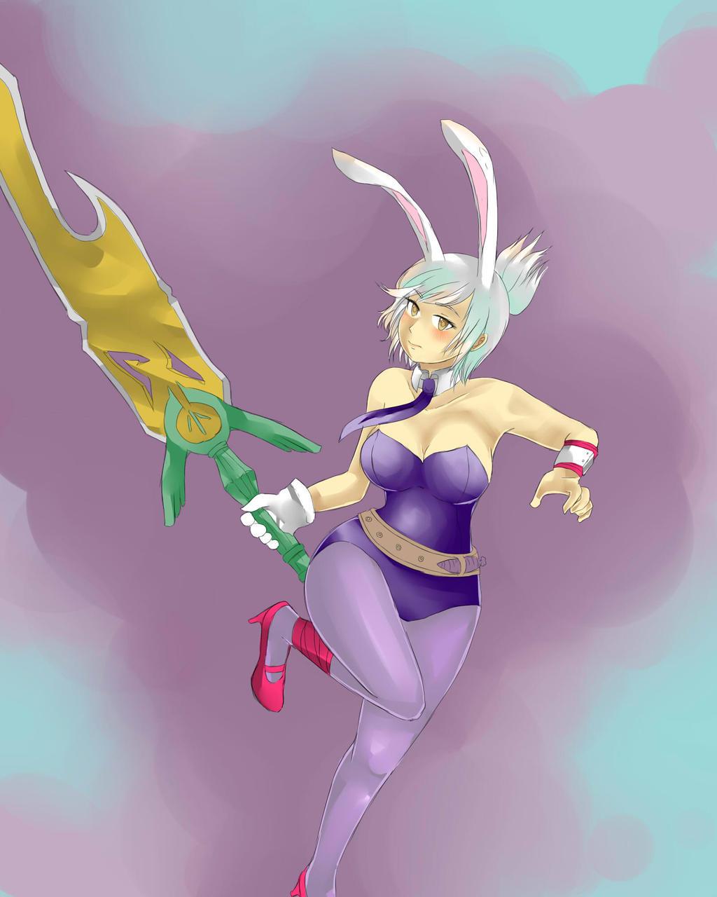 battle bunny riven by cipni watch fan art digital art drawings games ...Bunny Riven Fan Art