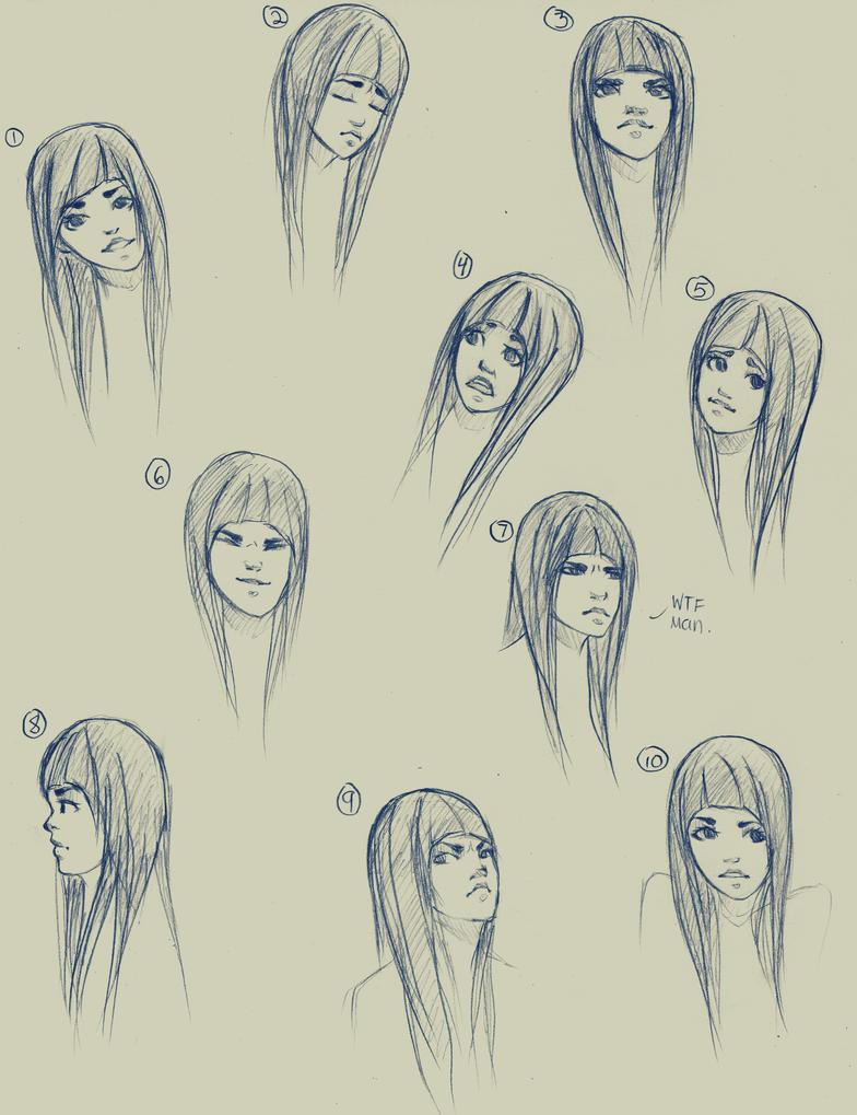 Expressions by Mizu-Kyuu