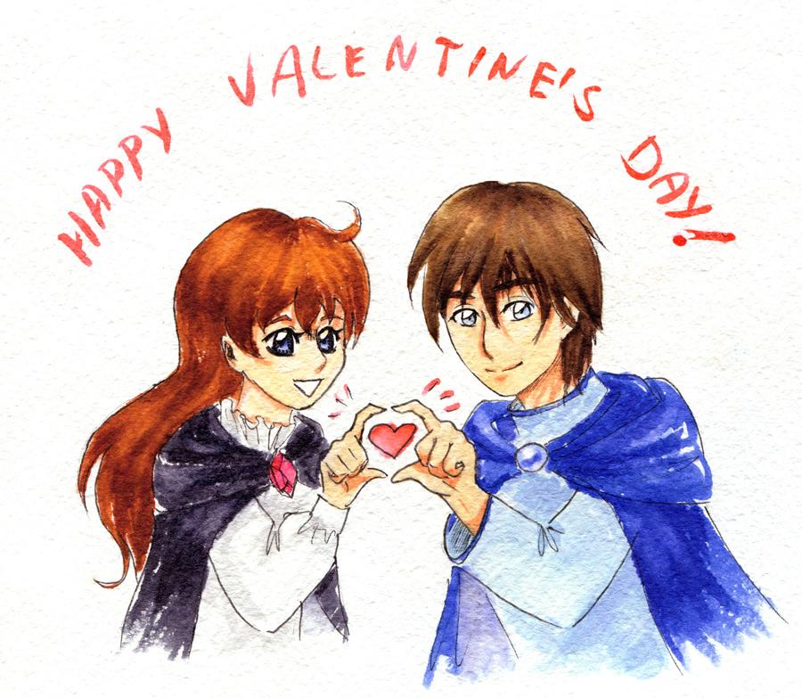 Happy Valentine's Day by Hino-Hikaru