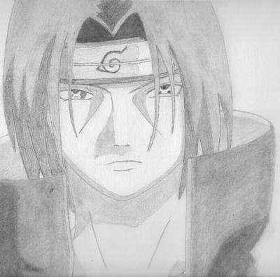 itachi uchiha drawing by akatsuki kage