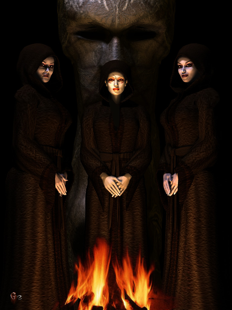 Three Witches by gerberc