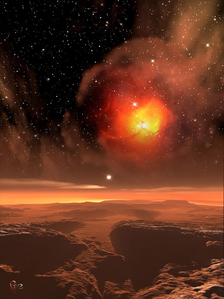 Stellar Cradle by gerberc